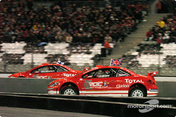 Semi-final: Colin McRae and Marcus Gronholm