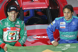 Team Brazil: Tony Kanaan and Felipe Massa