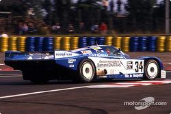 #34 Equipe Alméras Frères Porsche 962C: Jacques Alméras, Jean-Marie Alméras, Alain Iannetta