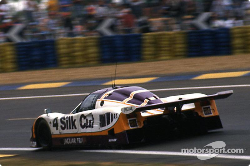 #4 Silk Cut Jaguar Jaguar XJR-9 LM: Alain Ferté, Eliseo Salazar, Michel Ferté