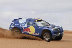Volkswagen team presentation: Volkswagen Race-Touareg for the 2005 Dakar Rally