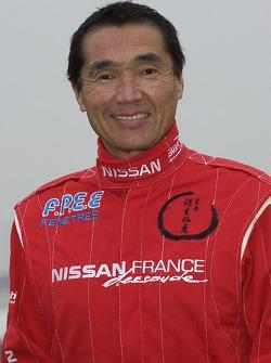 Nissan Dessoude team presentation: Kenjiro Shinozuka