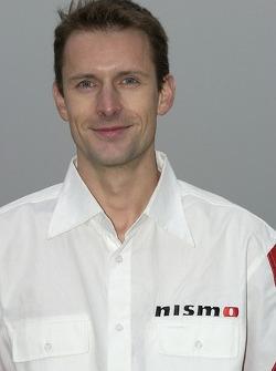 Nissan Dessoude team presentation: Sylvain Poncet