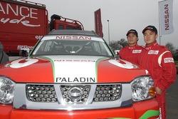 Nissan Dessoude team presentation: Xu Lang and Zhou Yong