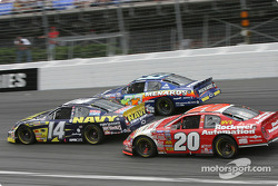 Casey Atwood, Paul Menard and Mike Bliss
