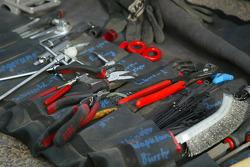KTM team testing: essential tools