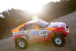 Mitsubishi Motors Repsol ATS Studios shakedown: Nani Roma and Henri Magne