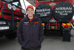 Nissan Rally Raid Team trucks