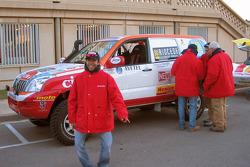 Toyota Challenge team co-driver Benedi Rui Rodrigues
