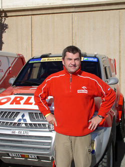 Orlen Team Ralliart's Jean-Marc Fortin