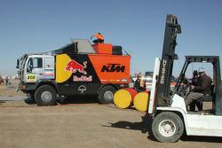 KTM service truck
