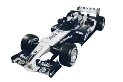 The new livery of the BMW WilliamsF1