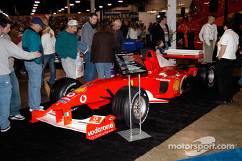 Ferrari Grand Prix car, driven by 7-time World Champion Michael Schumacher in 2000.  Updated to 2004 markings.