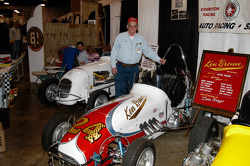Dick Briggs, owner and restorer of #24.  Dick was the chief mechanic on the Ken Brenn team in the 50s, 60s and 70s.
