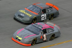 Johnny Sauter and Kevin Harvick