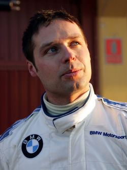 ETCC 2004 champion Andy Priaulx tests the Williams-BMW