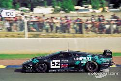 #52 TWR Jaguar Racing Jaguar XJ220 C: Paul Belmondo, Jay Cochran, Andreas Fuchs