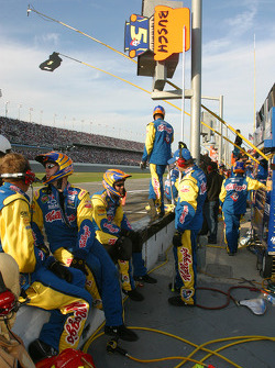 Kellogg's Chevy crew ready for pitstop