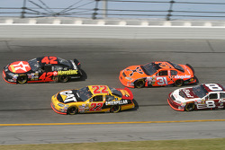 Jamie McMurray, Scott Wimmer, Jeff Burton and Dale Earnhardt Jr.