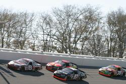 Dale Earnhardt Jr., Kurt Busch, Jamie McMurray and Elliott Sadler