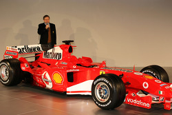 Jean Todt presents the new Ferrrari F2005