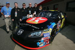 Jamie McMurray at the launch of the Driving Autism Awareness