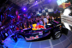 Red Bull Racing launch party: the Red Bull RB1 car