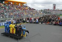 F1 drivers photoshoot