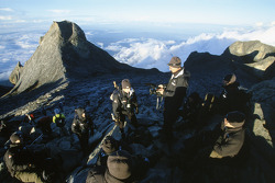 BAR challenge at Mount Kinabalu in Borneo