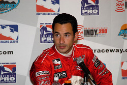 Post-race press conference: second-place Helio Castroneves