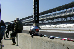 The Andretti helmet returns to Indianapolis Motor Speedway