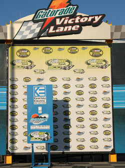 Phoenix International Raceway victory lane