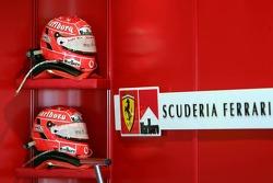 Helmets of Michael Schumacher