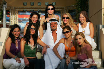 Vitantonio Liuzzi and his harem