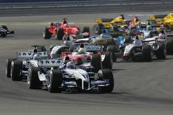 First corner: Mark Webber
