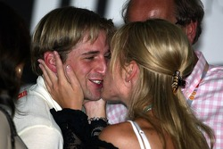 Christijan Albers with girlfriend Liselore