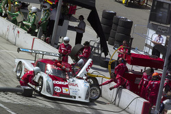 Pitstop for #01 CompUSA Chip Ganassi with Felix Sabates Lexus Riley: Luis Diaz, Scott Pruett