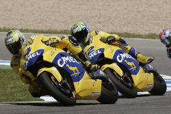 Troy Bayliss and Alex Barros