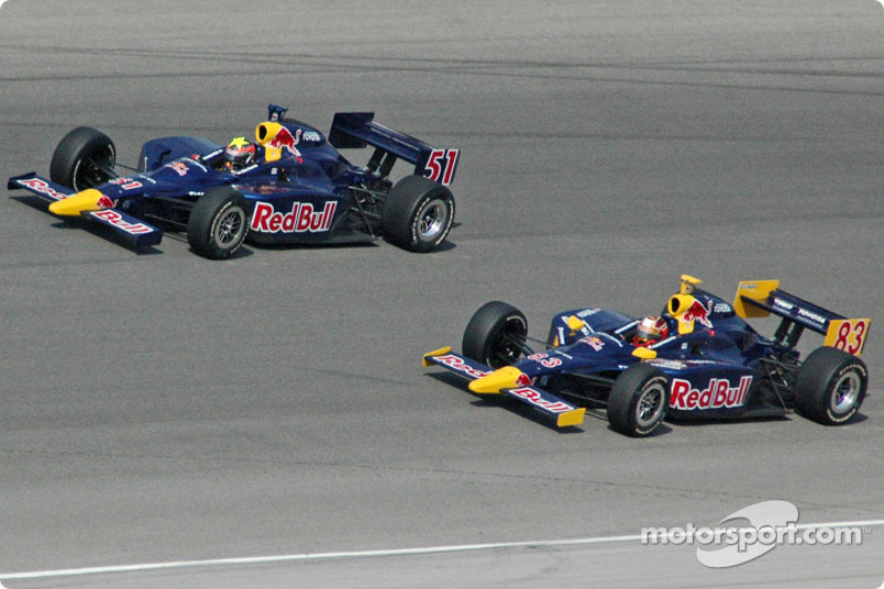 Alex Barron and Patrick Carpentier