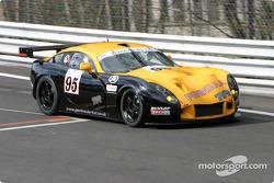 #95 RaceSport Peninsula TVR TVR Tuscan T400R: John Hartshorne, Richard Stanton, Dan Eagling