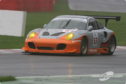 #53 A-Level Engineering Porsche 996 Turbo: Wolfgang Kaufmann, Eric van de Poele