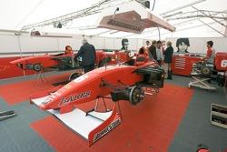 BCN Competicion garage area