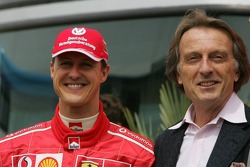 Shell media event: Michael Schumacher and Luca di Montezemelo