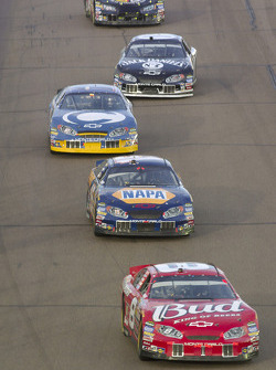 Dale Earnhardt Jr., Michael Waltrip, Scott Riggs, Dave Blaney