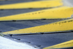 Detail of the kerbs at Imola