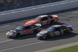 Kevin Harvick, Michael Waltrip and Tony Stewart