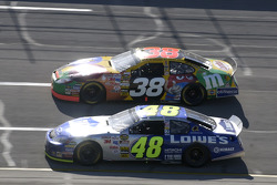 Elliott Sadler and Jimmie Johnson