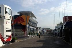 Circuit de Catalunya paddock area