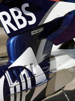 Detail of the Williams-BMW