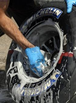 Tire preparation at Michelin